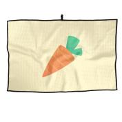 Cute Carrot Unisex Funny Golf Towel