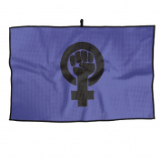 Feminist Logo Unisex Unique Golf Towel