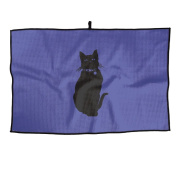 Big Black Cat Unisex Cute Golf Towel Sports Towel