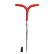 19.6CM Y-Style Outdoor Ice Fishing Rods Tripod Stand Steel Rest Holder Bracket Tent Peg