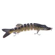 Himenlens F8J01 Multi Jointed Swimming Life Fish Swimbait Hard Fishing Lure Bass Bait More Colours