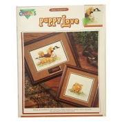 Paula Fitzpatrick PUPPY LOVE By Colour Charts - Counted Cross Stitch Pattern Chart