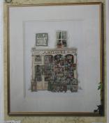 Antiques Permin of Copenhagen Cross Stitch Chart Danish Art Needlework