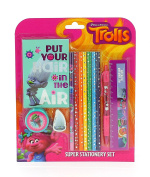 Officially Licenced Trolls Movie Super Stationery Set