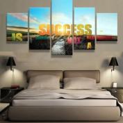 Success Motivation - 5 piece Canvas