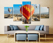 Cappadocia Balloon - 5 piece Canvas