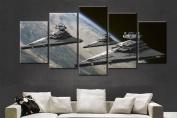 Star Wars Super Star Destroyer Painting - 5 Piece Canvas