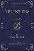 Splinters, Vol. 35