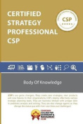 Certified Strategy Professional CSP BOK