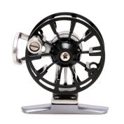 YDZN Full Metal Ultra-light Former Ice Fishing Reels Wheel Fly Fishing Reel Aluminium -Black