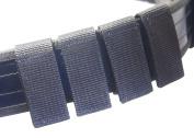 AstroG B2@ 4 X Police Security Guard Hook and Loop Black Nylon Duty Belt keeper Fit 5.1cm Belts