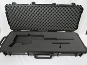 SKB Case 3i-4214-5 for Ruger precision Rifle Folded with Scope and detached Bolt