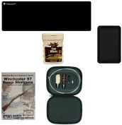 AGI DVD Manual & Armourer's Course Winchester 97 Pump Shotgun + Ultimate Arms Gear Gunsmith Mat + 12 Gauge Cleaning Tool Kit with Rod Brushes Swab Slotted Tips and Patches + Wipes + Magnetic Tray