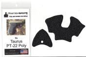 Black Tractiongrips grip the overlay for Taurus PT-22 Poly
