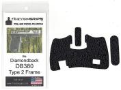 Tractiongrips rubber grip tape overlay for Diamondback DB380 Type 2 frame