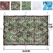 Camo Netting, iunio Camouflage Net Military Blinds Army Nets Leaf Mesh for Camping Shooting Hunting Decoration Sunshade
