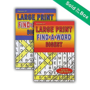 Large Print Find-A-Word Puzzles Book Digest Size