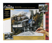 Plaid Creates Autumn Express Paint by Number Kit