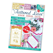 Tattered Lace Magazine  Issue #40 with FREE Tags Die Set, TTLMAG40