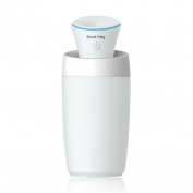 SMYTSHOP Mini Ultrasonic Cool Mist Humidifier for Travel Office Desk Desktop Car Small Bedroom Personal Humidifier / USB Portable Mini Humidifier/ Air Purifier for Baby Room with Water Bottle