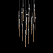 Sonneman Led Pendant 2939-01 Led Pendant From The Rain Collection