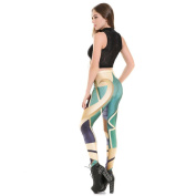 ZHLONG Yoga pants ladies slim hip sweat-absorbent breathable stretch exercise fitness Pant Footless tights