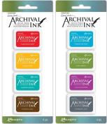 Wendy Vecchi Mini Archival Ink Pads - 2 item Bundle