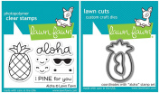 Lawn Fawn - Aloha - Pineapple Stamp and Die Set