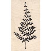 Lacy Fern Leaf Rubber Stamp