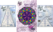 Bundle of Jewel Box Gem Five and Ten (5 & 10), and Ferris Wheel Quilt Pattern