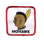 "Mohawk Patch - Native American ""Indian"""
