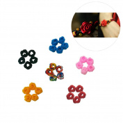 30Pcs DIY Handmade Materials Pineapple Chinese Knots Accessories for Bracelet Necklace Rope Cord