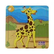 TRENDINAO New Baby Kids Educational Developmental Wooden Puzzle Learning Training Toys
