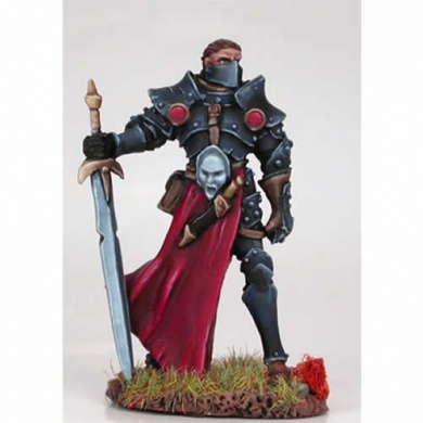 Male Knight with Weapon Assortment Miniature Visions In Fantasy Dark Sword Miniatures