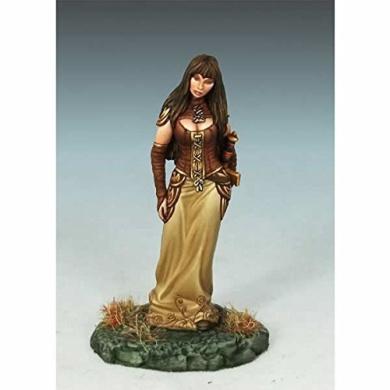 Female Rogue With Sword No2 Miniature Elmore Masterworks Dark Sword Miniatures