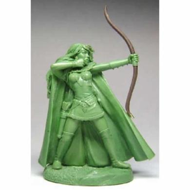 Elven Female Archer Miniature Elmore Masterwork Dark Sword Miniatures