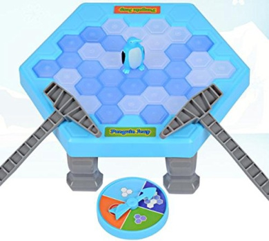 Upinshop Table Games Balance Ice Cubes Save Penguin Icebreaker Beating Interactive Destop Party Games