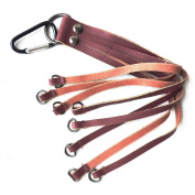 GUGULUZA Leather Game Carrier Bird Duck Hanger Strap Bird Strapping Tape