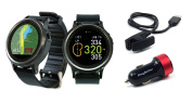 Golf Buddy WTX Golf GPS Smartwatch with PlayBetter USB Car Charge Adapter | Full-Colour Touchscreen, Activity Tracker, Dynamic Green View, Smart Notifications & 40,000+ Worldwide Courses