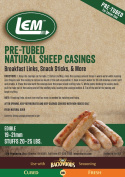 LEM Products 1243 Pre-Tubed Sheep Casings