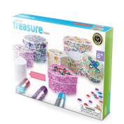 Serabeena Decorate Your Own Glittery Treasure Boxes - Creative Kit for Girls