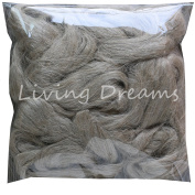 Flax Fibre for Spinning Blending and Fibre Arts. Natural Undyed Flax Linen Top.