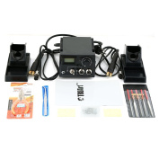 TRUArt Stage 2 Dual Pen Professional Woodburning Detailer 60W Tool with Digital Temperature Control, 20 Tips and Case