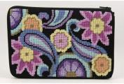 Cosmetic Purse - Paisley - Needlepoint Kit