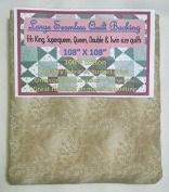 Quilt Backing, Large, Seamless, C47603-702, Tan