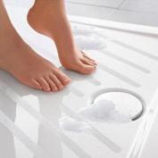 Anshinto 12pcs Anti Slip Bath Grip Stickers Non Slip Strips for Shower in Bathroom