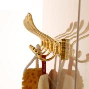 Continental row hook/Towel Hooks/Wall mounted coat hooks/Bathroom Hook-A