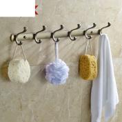 Continental Hooks/Pteris hook/Wall clothes hook row/Clothes hook/Single coat hook-B