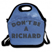 Black Don't Be A Richard Lunch Bag For Man And Woman