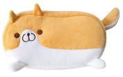 Cute Corgi Dog Shape Plush Pencil Case
